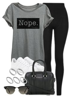 """Style  #10739"" by vany-alvarado ❤ liked on Polyvore featuring Topshop, adidas, Givenchy, ASOS and Ray-Ban"