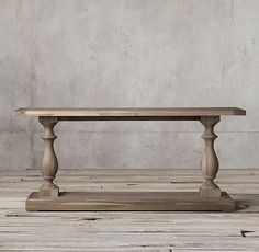 17th C. Monastery Console Table 45x 18