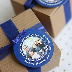 happy hanukkah gift tags