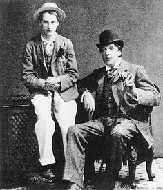 Oscar Wilde and Bosie Douglas by ADiamondFellFromTheSky, via Flickr