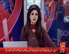 Private TV Channel 92 News reporter arza woman's beeper went down to visit them…