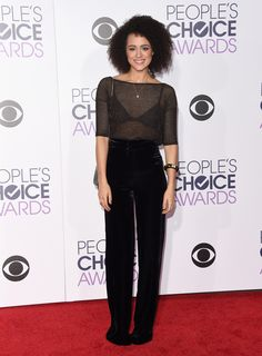 Nathalie Emmanuel aux People's Choice Awards 2015