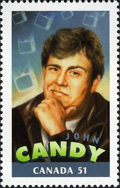 Canada Stamp - Canadians in Hollywood John Candy Canadian Memes, Canadian Things, I Am Canadian, Canadian History, Canada For Kids, Canada 150, Kino Film, Old Movie Stars, Comedy Films