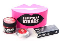 I want this! Lush Christmas Kisses Gift Set