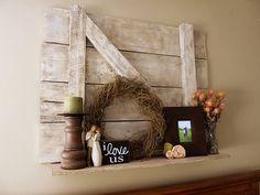 Exceptionnel DIY Barndoor Art Door Crafts, Diy Barn Door, Old Barn Doors, Diy Door