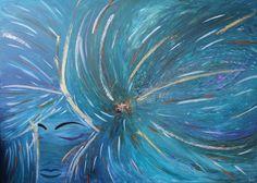 Dea Maia - Pittura in Acrilico su tela 100x140 (Quadro eseguito su commissione) http://ilmondodifam.wix.com/famou
