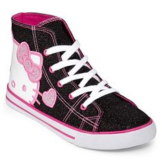 251b233cbf2 Hello Kitty® Glynnis Girls Hi-Top Shoes - jcpenney