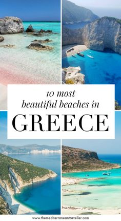10 Incredible Beaches in Greece. With miles of coast, hundreds of islands and thousands of beaches, there Beach Trip, Beach Travel, Hawaii Beach, Beach Vacations, Oahu Hawaii, Beach Hotels, Beach Resorts, Places To Travel, Places To See