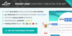 Review Live Composer - Front-End WordPress Page BuilderWe have the best promotion for you and if you are interested in the related item or need more information reviews from the x customer who are own of them before please follow the link to see fully reviews