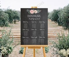 Personnalisés de mariage imprimable Seating par HoneyLaneDesigns