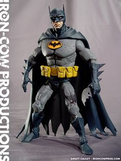 Batman, inspired by the artwork of Mike Mignola