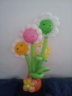 Flowers balloon