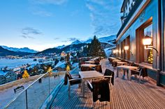 CARLTON HOTEL ST. MORITZ St. Moritz, Switzerland: The Carlton Hotel in St. Moritz represents a new dimension of self-assured luxury and boasts captivating views from all its 60 suites and junior suites. #Captivating #Switzerland