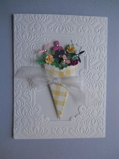 Handmade Card Easter Mothers Day Birthday by CooCoo4UCreations, $5.00