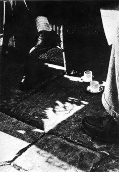 László Moholy-Nagy: At coffee, c.1926