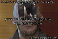 92. You know Supernatural changed your life when.. | Submitted by:freedomsalengthofrope