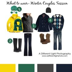 What to wear for a winter couples photoshoot!