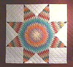 Beautiful native American quilt