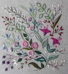 Nostalgie embroidery kit – French Needlework Kits, Cross Stitch, Embroidery, Sophie Digard – The French Needle
