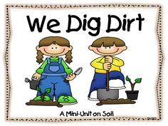 First Grade Wow: science, adorable soil themed unit (free!)