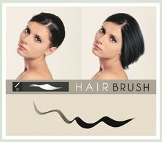 photoshop hair brushes Download from here: http://textycafe.com/hair-brush-photoshop-add-ons-to-create-hair-and-fur/