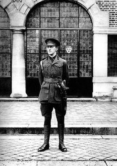D. Antônio Gastão, filho da Princesa Isabel, em 1918. Foto de P. Gavelle.