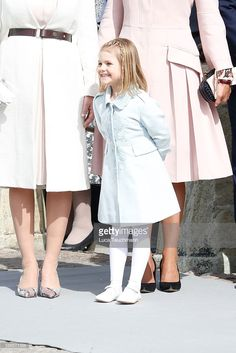 Adorable little princess Estelle during her grandfather's 70th Birthday festivities. April 30, 2016.