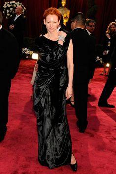 SÍ Y NO: Los 20 looks más polémicos de los Óscares TILDA SWINTON