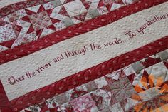 Piece N Quilt: Over the River - Custom Machine Quilting by Natalia Bonner
