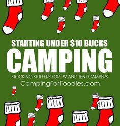 Camping christmas gift ideas
