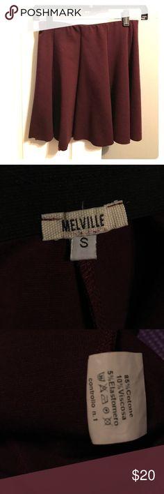 Brandy Melville maroon skirt Comfortable worn maybe 5x Brandy Melville Skirts Mini