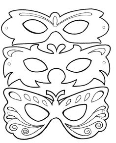carnaval - Page 2 Theme Carnaval, Decoration Creche, Carnival Crafts, Butterfly Mask, World Thinking Day, Mask For Kids, Coloring Pages, Free Coloring, Art Projects