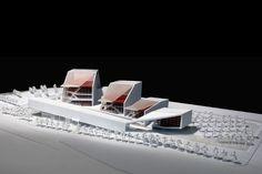 Sejong Art Center Competition Entry; Sejong, Korea - H Architecture + Haeahn Architecture