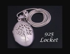 Locket, 925 Sterling Silver Tree of Life Necklace Opening Locket  #treeoflife #treeoflifenecklace #treeoflifejewelry #gifts #giftsforher #mothersday #jewelry #jewellery