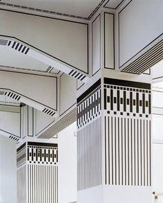 Otto Wagner - Post Office Savings Bank Building in Vienna. Arquitectura. Secesión Vienesa. Otto Wagner