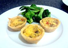 Miniature Savoury Qhiches - Fructose Friendly & Gluten Free | Not From A Packet Mix #glutenfree #GF #fructosefriendly #FF