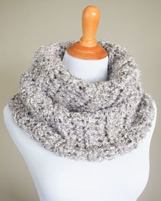 Outlander Cowl Free Crochet Pattern in Clouds by Lionbrand Homespun -  Inspired by the knitwear on the Outlander TV series, this Sassenach Cowl is quick and easy to make, even for beginners.