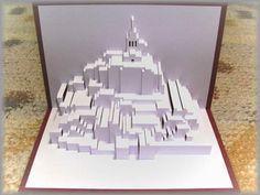 Mont Saint Michel #kirigami #papercuts
