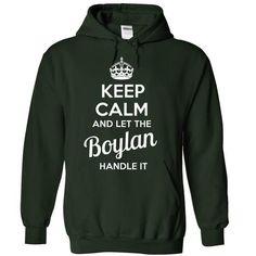 Boylan - KEEP CALM AND LET THE Boylan HANDLE IT - #retirement gift #small gift. ORDER HERE => https://www.sunfrog.com/Valentines/Boylan--KEEP-CALM-AND-LET-THE-Boylan-HANDLE-IT-55522094-Guys.html?68278