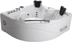 NEW - Deluxe Computerized Whirlpool Hot Tub (White) Model #SD005A 2 Person Model (White) This newly designed 2 person model indoor hot tub will add a modern look to any bathroom! This is a great inves