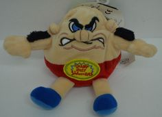 """Silly Slammers Champ Bruiser Wrestler King #67 Plush Talks Bean Bag 6"""" tags #SillySlammers http://stores.ebay.com/Lost-Loves-Toy-Chest/_i.html?image2.x=0&image2.y=0&_nkw=silly+slammers"""