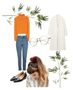 """""""Orange in the jungle 🍊🌴"""" by karo0717 on Polyvore featuring Pier 1 Imports, Acne Studios, Topshop, MANGO, ASOS and Rupert Sanderson"""