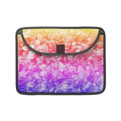 Multi Color Wild Flowers Sleeves For MacBooks    *This design is available on several other products.