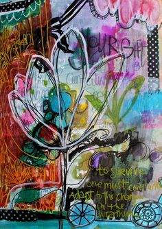 Sweet Repeats - The Messages That Come Through Art Journaling...