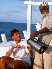 Michael Palin on board the Al-Shama Michael Palin, Adventure, Board, Adventure Movies, Adventure Books, Planks