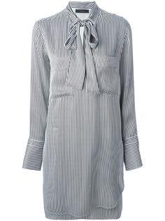 79f14a5fb62c belstaff pussy bow striped shirt dress Black  alducadaosta  newarrivals   spring  summer