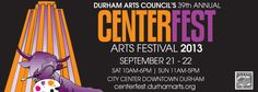 The 40th annual CenterFest Arts festival is September 20-21, 2014!