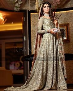 PakistaniLoverDreamer # Pakistani Gowns, Pakistani Wedding Dresses, Pakistani Outfits, Pakistani Bridal, Bridal Lehenga, Indian Outfits, Bridal Dresses, Pakistani Culture, Party Dresses