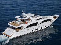 Debuting at September's Cannes Boat Show, the Delfino 93 relaunched Italian yachtbuilder Benetti's Delfino line, a throwback to the sixtie Benetti Yachts, Luxury Yachts, Sea Crafts, Water Crafts, Speed Boats, Power Boats, Yacht Builders, Yacht Cruises, Monaco Grand Prix