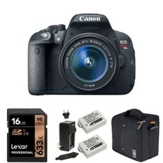 Canon EOS Rebel T5i Digital SLR with 18-55mm with 16GB Me... https://www.amazon.com/dp/B01H43S8E0/ref=cm_sw_r_pi_dp_x_srGhybHVAPY5W